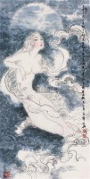巫山神女 镜心 设色纸本 - 薛林兴 - 中国书画 - 四季拍卖会(第58期) -中国收藏网