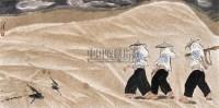 惠安女 镜心 设色纸本 - 韦江琼 - 中国近现代书画 - 2006夏季拍卖会 -收藏网