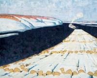 雪霁 布面 油画 - 李秀实 - 中国现当代艺术 - 2007迎春拍卖会 -收藏网