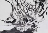 抽象(二联作) - 158381 - 华人当代艺术 - 2007春季拍卖会 -收藏网