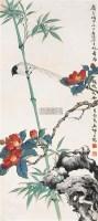 子鸟啭花浓 立轴 设色纸本 - 李景林 - 中国书画(二) - 2006年秋季艺术品拍卖会 -收藏网