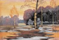 苏天赐  风景 - 苏天赐 - 中国油画版画 - 2008迎春暨首届艺术品拍卖会 -收藏网