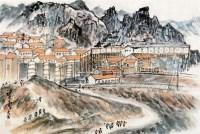 山水 镜片 - 21149 - 中国书画 - 2011年首屇艺术品拍卖会 -收藏网