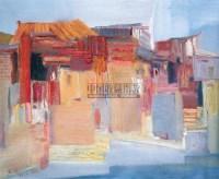 闽南印象 布面 油画 - 王辉 - 油画、雕塑、版画暨广东油画、水彩 - 2006冬季拍卖会 -收藏网