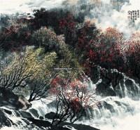 碧涧流 镜心 设色纸本 - 149286 - 中国书画 - 2007春季中国书画拍卖会 -收藏网