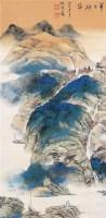 华岳雄姿 立轴 设色纸本 - 4513 - 中国书画(二) - 2006年秋季拍卖会 -收藏网
