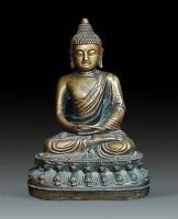 释迦牟尼铜造像 -  - 瓷器杂项 - 2010春季艺术品拍卖会 -收藏网