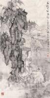 一夜秋风动扇愁 镜心 设色纸本 - 谭崇正 - 中国书画及杂项 - 2006秋季艺术品拍卖会 -收藏网