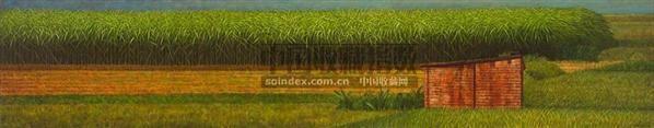 1999-2002年作 蔗田(嘉南平原) - 140581 - 华人当代艺术 - 2007春季拍卖会 -收藏网