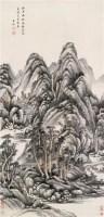 深山访友图 立轴 设色纸本 - 王鉴 - 中国书画(一) - 2006秋季大型艺术品拍卖会 -收藏网