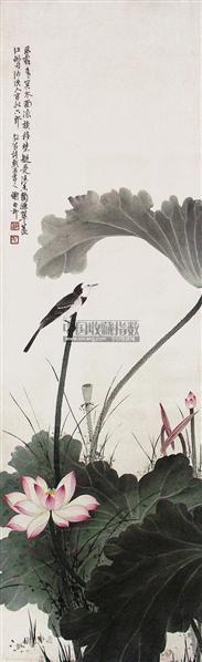 花鸟 立轴 设色绢本 - 139818 - 中国书画 - 2011年春季拍卖会(329期) -收藏网