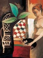 人物 纸本 油画 - 136667 - 油画、雕塑、版画暨广东油画、水彩 - 2006冬季拍卖会 -收藏网