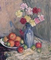 陆国英 花卉 布面 油画 - 陆国英 - 中国油画 - 2006年秋季拍卖会 -收藏网