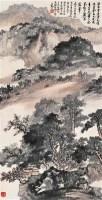 山水 立轴 设色纸本 - 133159 - 中国近现代书画 - 2006冬季拍卖会 -收藏网