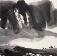 静界  镜心 水墨纸本 - 117607 - 中国当代书画 - 2009春季拍卖会 -收藏网