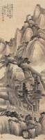 山路松风 立轴 水墨纸本 - 2322 - 中国书画 - 2008春季艺术品拍卖会 -收藏网