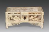 喜鹊登梅象牙首饰盒 -  - 瓷杂 - 五周年秋季拍卖会 -收藏网