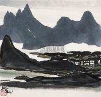 风景 立轴 设色纸本 - 116036 - 中国书画 - 第55期中国艺术精品拍卖会 -收藏网
