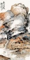 秋山暮韵 立轴 设色纸本 - 116782 - 中国书画 - 2010年春季拍卖会 -中国收藏网