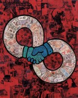 合作 综合材料 - 薛松 - 中国当代艺术 - 2006秋季拍卖会 -收藏网