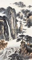 山水 立轴 - 傅二石 - 中国书画 - 2011年春季艺术品拍卖会 -中国收藏网