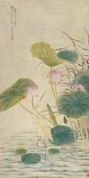 一路连科图 立轴 设色纸本 -  - 中国书画专场 - 2008首届秋季大型古玩书画拍卖会 -收藏网