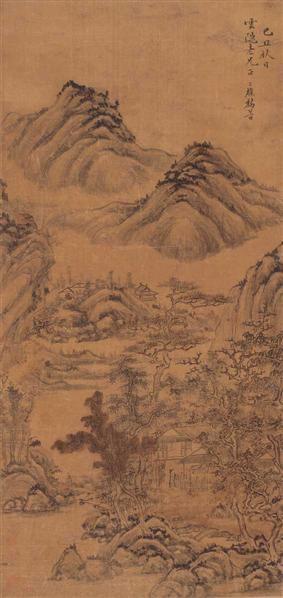 黎简 山水 - 12328 - 中国书画(二) - 2007季春第57期拍卖会 -收藏网