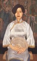 薛雁群  仕女图 - 154293 - 中国当代油画 - 鹏盛金辉中外油画专场 -收藏网