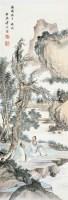 桐荫论道图 立轴 设色纸本 - 18322 - 中国书画专场 - 2008首届秋季大型古玩书画拍卖会 -收藏网
