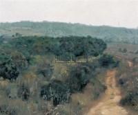 路 布面 - 张冬峰 - 中国油画 - 2007秋季大型艺术品拍卖会 -收藏网