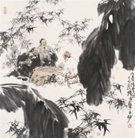 苗再新   忘忧清乐图 - 苗再新 - 中国书画 - 2007春季中国书画名家精品拍卖会 -收藏网