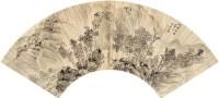 程邃    层林策杖 - 程邃 - 迎春艺术品专场(二) - 2007迎春艺术品专场拍卖会 -收藏网
