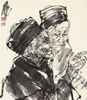 密语 镜片 水墨纸本 - 7693 - 中国书画(一) - 2011年秋季艺术品拍卖会 -中国收藏网