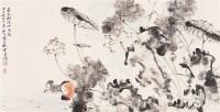贾广健  香在湖波洲里长 - 贾广健 - 中国书画 - 2007春季中国书画名家精品拍卖会 -收藏网