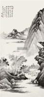山水 立轴 纸本 -  - 中国书画 - 2011年春季拍卖会 -收藏网