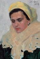 罗工柳 夫人像 油画 - 罗工柳 - 油画专场 - 2006首届艺术品拍卖会 -收藏网