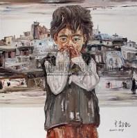《年》组画之三 布面油画 -  - 老油画·中国书画·新钢笔画 - 2011春季艺术品拍卖会 -收藏网