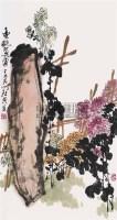 丰艳不畏霜 立轴 设色纸本 - 乍启典 - 中国书画一 - 2008迎春艺术品拍卖会 -中国收藏网
