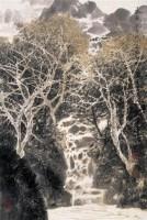 金连经  己巳(1989年)作 山水 镜心 纸本 - 130512 - 中国书画(二) - 2006年第4期嘉德四季拍卖会 -收藏网