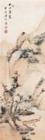 山水 立轴 设色纸本 - 溥伒 - 中国书画 - 2006艺术品拍卖会 -中国收藏网
