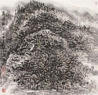 高原秋色 立轴 设色纸本 - 崔振宽 - 中国书画 - 2009年夏季拍卖会 -收藏网