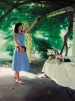 章剑 摘葡萄 布面油画 - 章剑 - 中国油画 - 2006秋季艺术品拍卖会 -收藏网