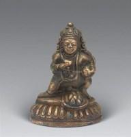 清 铜黑财神像 -  - 妙音天籁-佛教艺术品 - 2006年秋(十周年)拍卖会 -收藏网