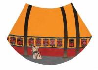 李强  转经 镜心 - 李强 - 当代中国书画(二) - 2006畅月(55期)拍卖会 -收藏网