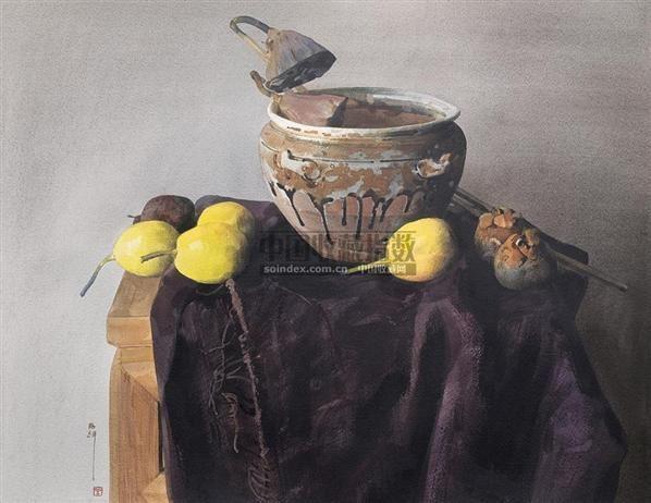 水彩-刘寿祥-名家西画-2010春季艺术品