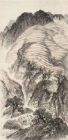 陕北印象写景 立轴 设色纸本 - 21149 - 长安画派 · 经典永恒 - 2011年秋季拍卖会 -中国收藏网