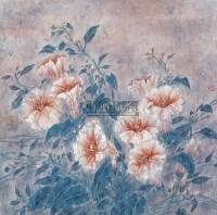 花卉 镜心 设色纸本 - 傅春梅 - 中国当代名家书画 - 2008春季拍卖会 -收藏网