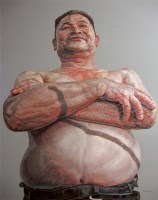 黄永符 2006年作 幸福时光NO.4 布面 油画 -  - 四川画派(油画) - 2006秋季拍卖会 -中国收藏网