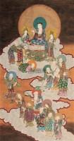 观音佛像 立轴 绢本 -  - 中国书画(一) - 庆二周年秋季拍卖会 -收藏网