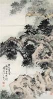 松石图 - 149082 - 中国书画 - 2011年江苏景宏国际春季书画拍卖会 -收藏网